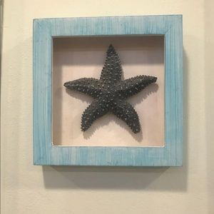 WALL SHOW PIECE (Starfish Shadow Box)